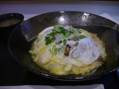 家竹亭 - 炸豬排蛋花飯