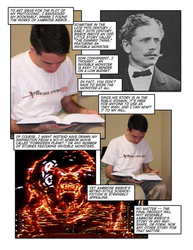 How to make a photocomic, page 4 | Fair use, I say, fair use