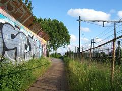 Station Delft path