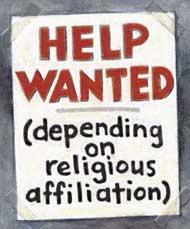 Helpwanted:religious