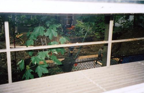 construction outside window