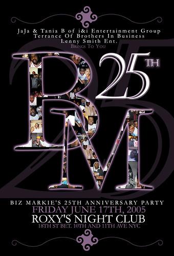 Biz Markie 25th Anniversary Party
