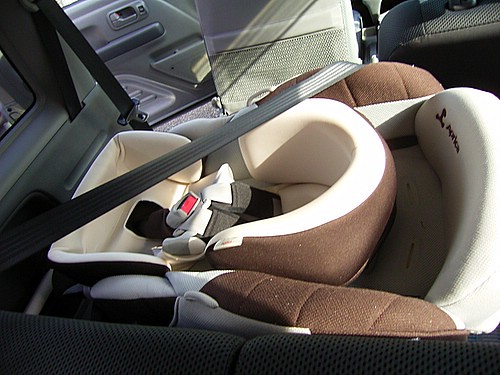 Infant seat.