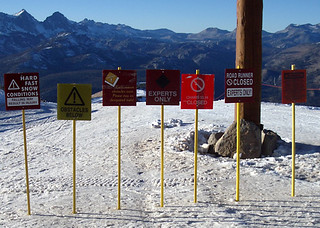 mammoth early snow signs | by ask
