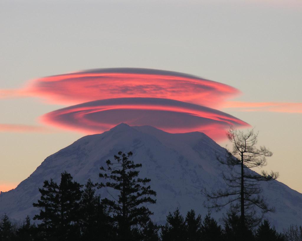 Дисковые облака фото