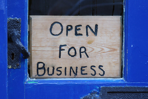 OPEN FOR BUSINESS | by Leo Reynolds