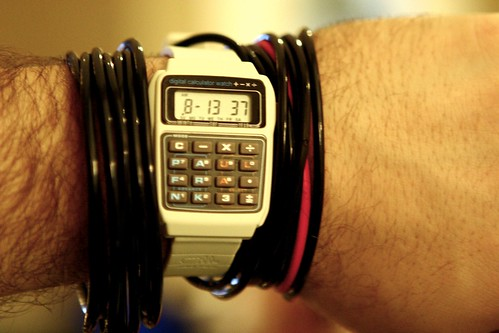 Sweet New Paul Frank Digital Calculator Watch | by Kris Krug