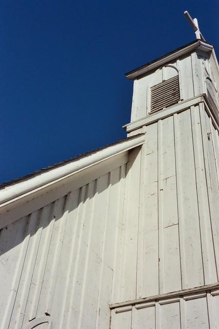 Rural Minnesota Church Angle