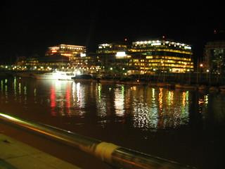 Puerto Madero at night