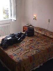 The room at Puerto del Sol Hotel in Mendoza Argentina | by artdealer_ar