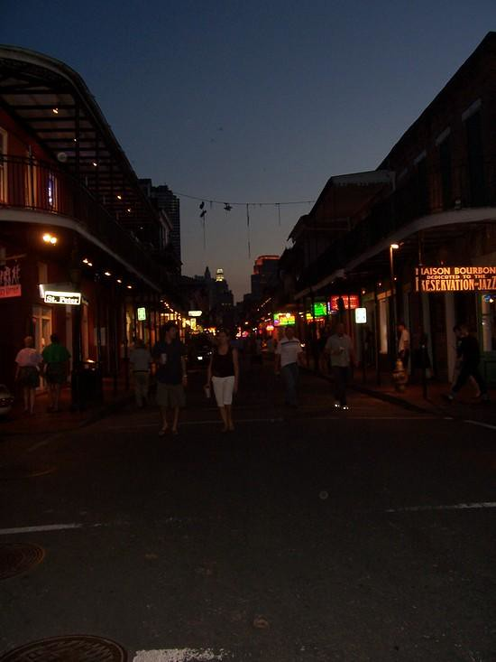 Bourbon Street Sunset