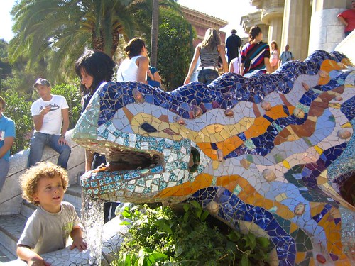 Parc Guell Lizard | by austinevan