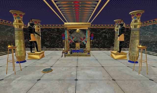 Egyptian Temple Throne Room More Of Aura Lily S