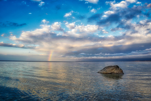 callahansbeach fortsalonga longisland rainbow beach sunset clouds nikon nikond3200