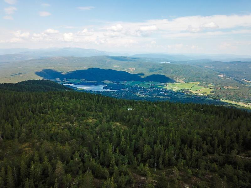 17-Utsikt mot Prestfoss (drone)