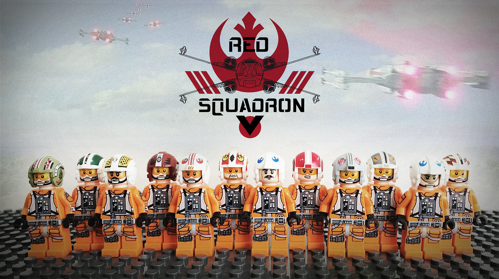 LEGO RED SQUADRON - BATTLE OF YAVIN