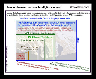 Sensor Size Comparisons For Digital Cameras In This Illus Flickr