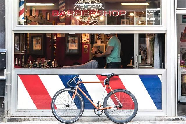 Antwerpen, Barber Shop.