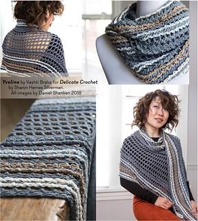 Yveline Design for Delicate Crochet Book | by vashtirama