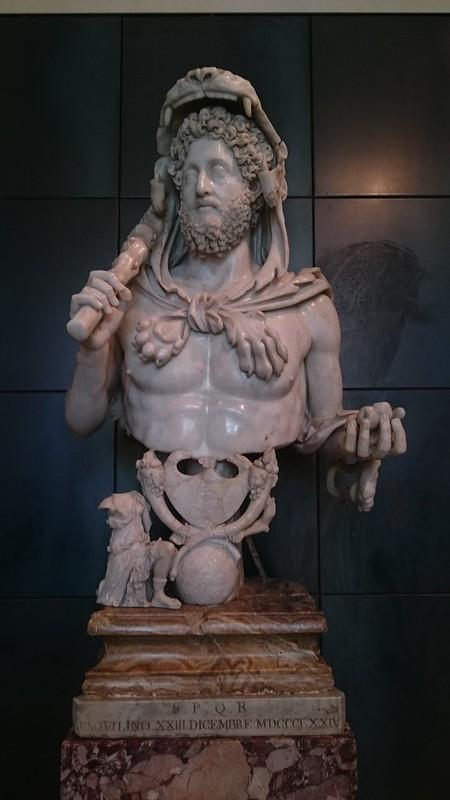 Cómodo como Hércules