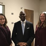 Reginald Meets with Dr. Melanie Stanley and Sarah Stalls of NERSBA 1