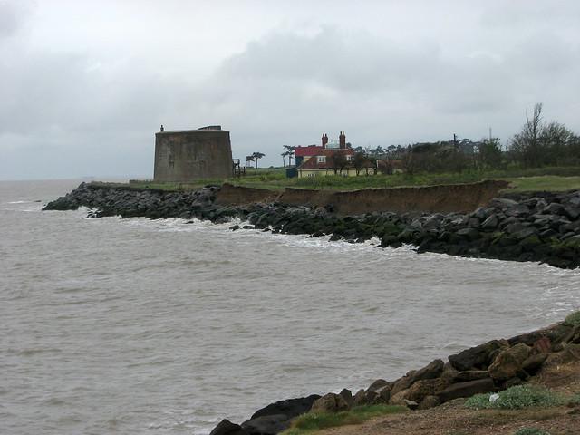 The coast near Bawdsey