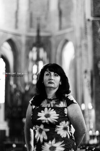 Lady in the Church   by alexanderbaranov1