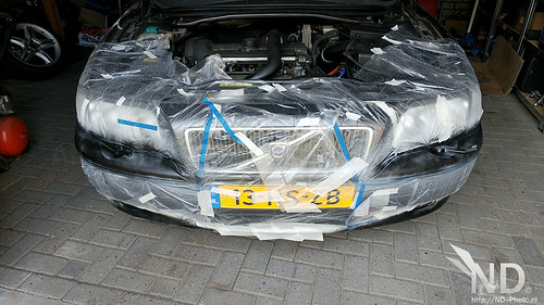 Volvo S80 2.4T Repainting All The Trim! | by ND-Photo.nl