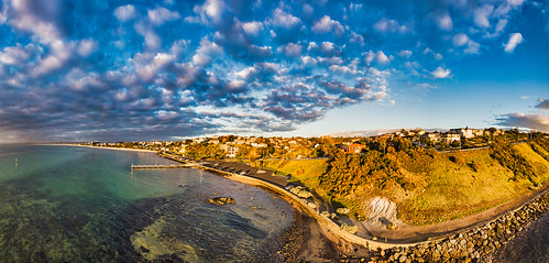 unlimitedphotos yabbadabbadoo quadcopter portphillipbay beache sunset morningtonpeninsula frankston djiaustralia djimavicpro dronephotography droneoftheday
