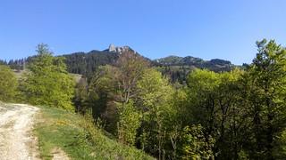 Ciucas Peak on spring   by mergpemunte.ro
