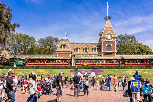 Derailed at Disneyland | by Air Butchie Photography