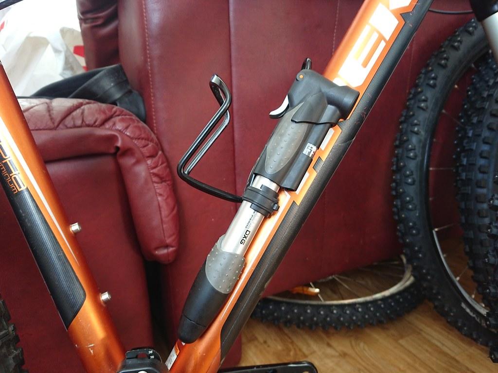 TOPEAK Mini Dual DXG Minipumpe 2020 Fahrradpumpe