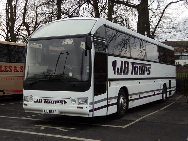 J B Tours of Watnall Nottingham LIL8543