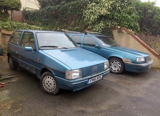 1989 Fiat Uno 45S Eleganza | by Spottedlaurel