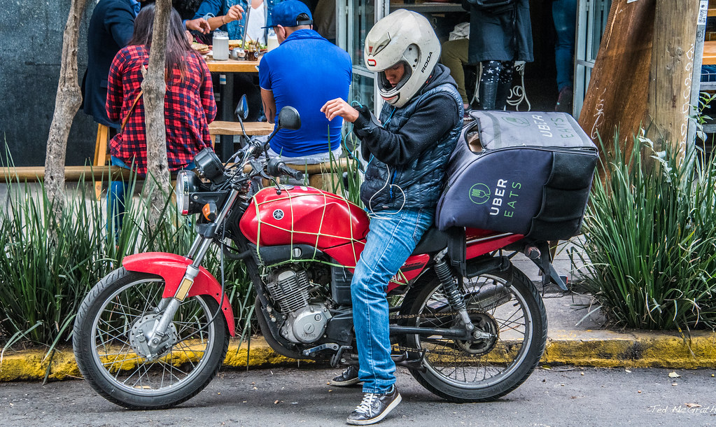 2018 - Mexico City - Uber Eats | Monday morning we went to v… | Flickr
