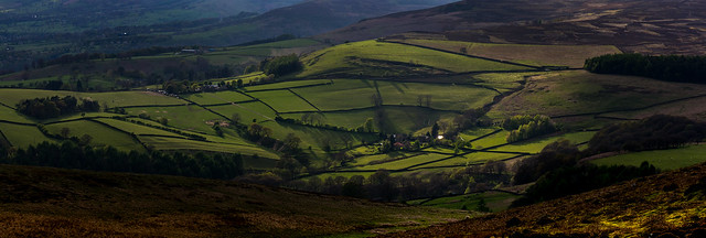 View from Stanage Edge Towards Losehill