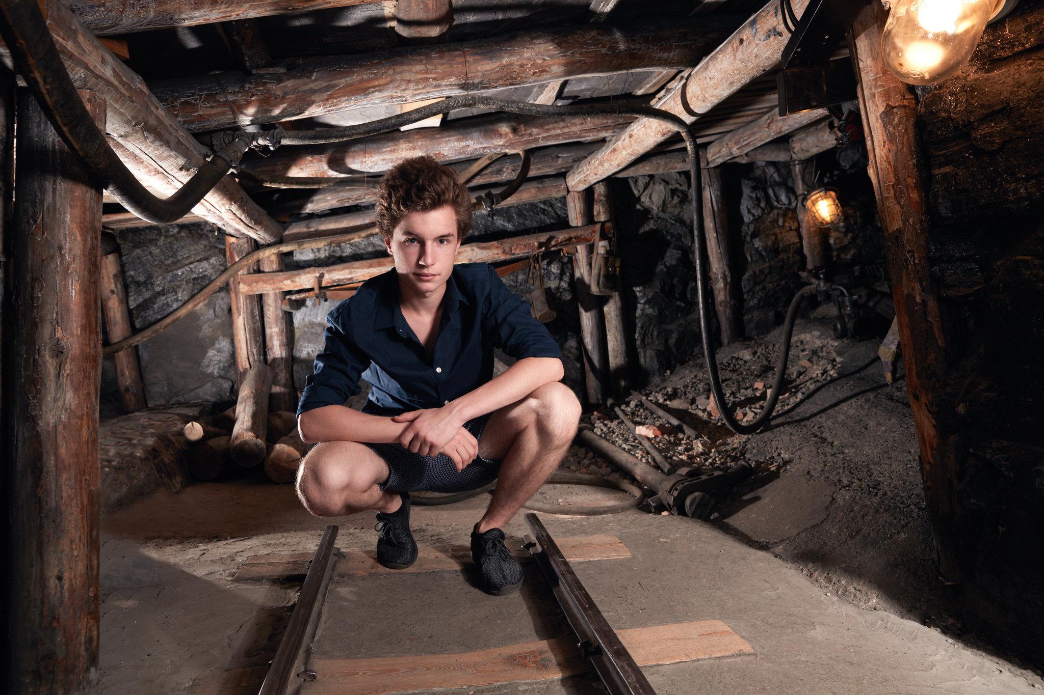Oskar Hes, Uhelný důl, NTM