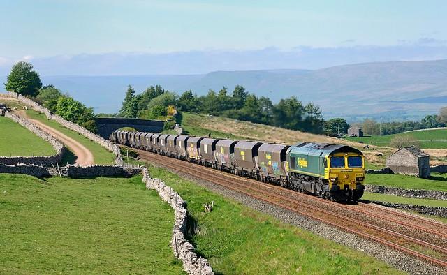 Greengates coal train