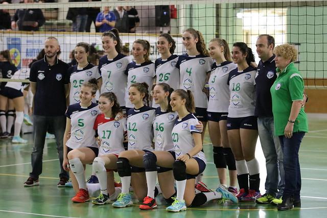 U16 Blu Finale Territoriale 15 Aprile 2018 Bracco Pro Patria  - Vero Volley Saugella 0 - 3