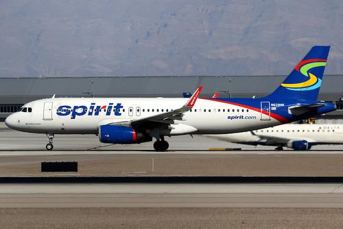 aircraft airplane airport plane planespotting canon 7d 100400 lasvegas mccarran klas las spirit spiritairlines nks nk airbus a320 airbusa320 sharklets n628nk