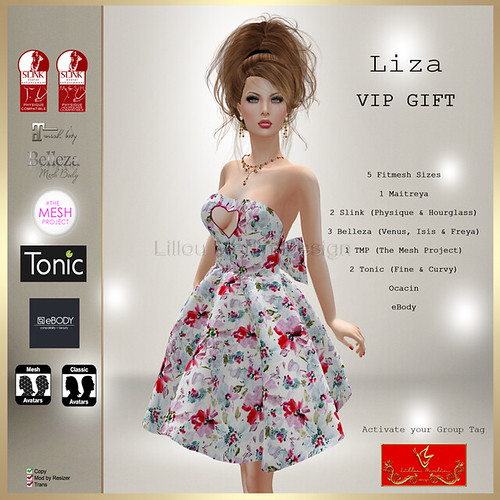 [LD] Liza - May VIP Gift | by Lillou Merlin