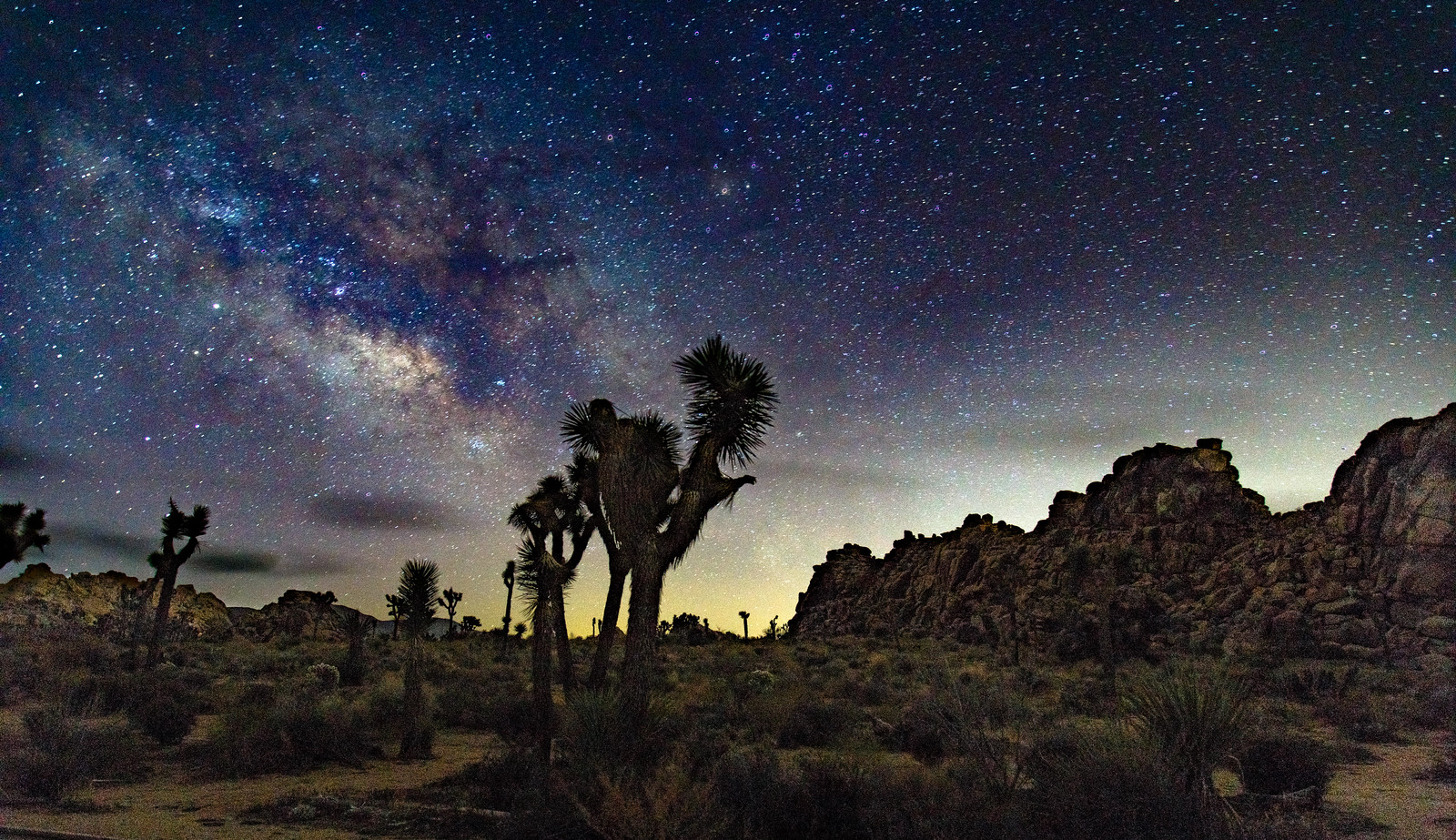 Night sky @ Joshua Tree #2