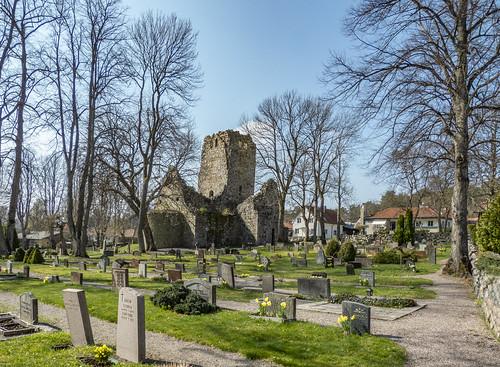 stolof'schurch sanktolofskyrkoruin kyrka sigtuna sweden church l1290474