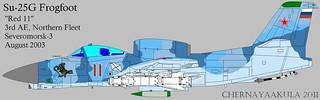 Early artist impression of Soviet RAM-J (Su-25 'Frogfoot')-Gak-hook   by Motschke