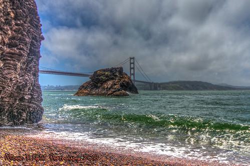 sanfrancisco goldengatebridge marincounty sausalito ocean pacificocean sky