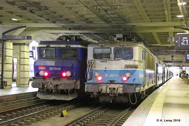 SNCF 8646 + 7606 Paris Montparnasse 24-05-2016