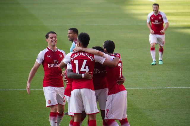 19 Merci Arsène - Celebrating Iwobi's goal
