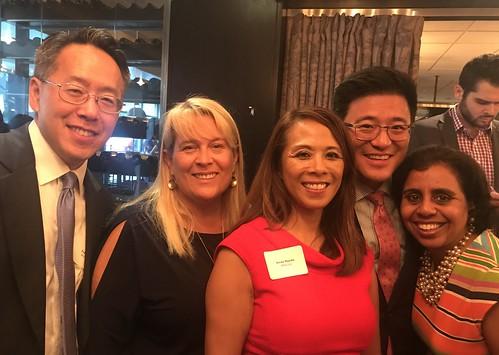 AAA-Fund board members at 2018 ASPIRE PAC breakfast