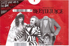 Beetlejuice Netflix Envelope