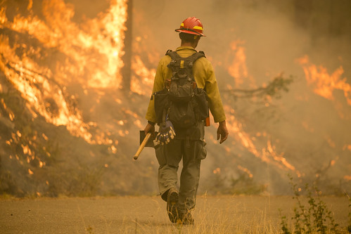 Firefighter, Umpqua National Forest Fires, 2017 | by Forest Service Pacific Northwest Region
